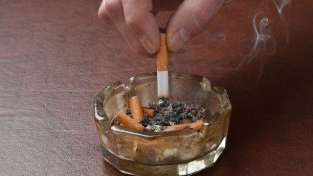 Cigarros no cinzeiro