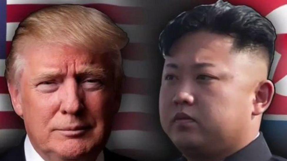 Donald Trum y Kim Jong-un