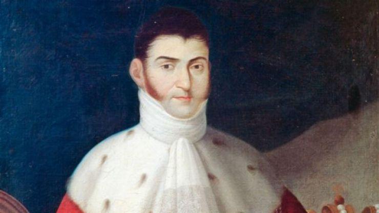 Retrato de Iturbide.