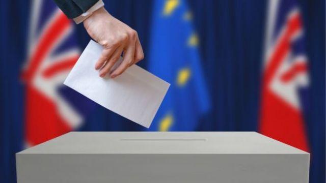 Someone voting