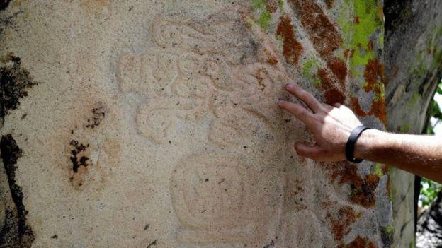 Pre-Hispanic ruins dating from the classical period of the Zapoteca culture on Cerro de la Pena