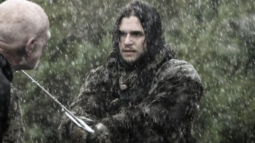 Kit Harington in Game of Thrones