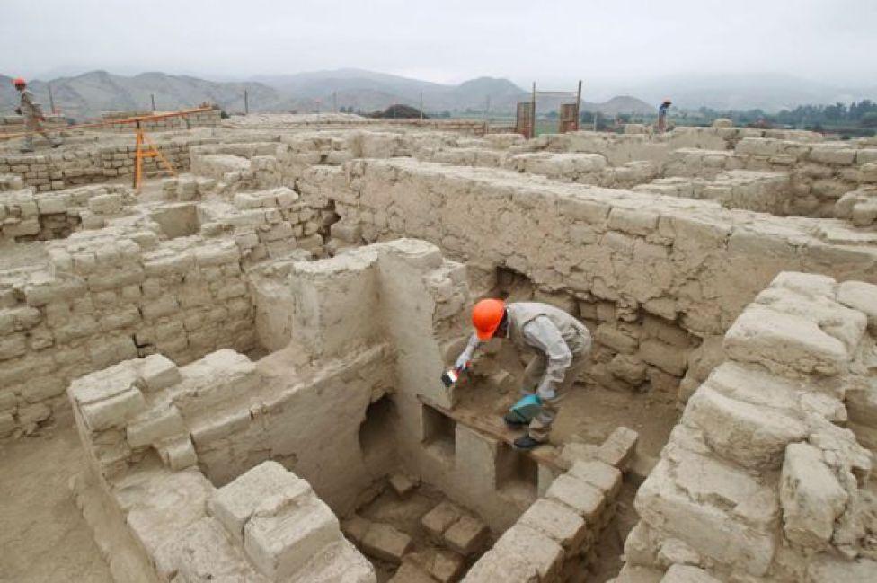 Sitio arqueológico El Castillo de Huarmey