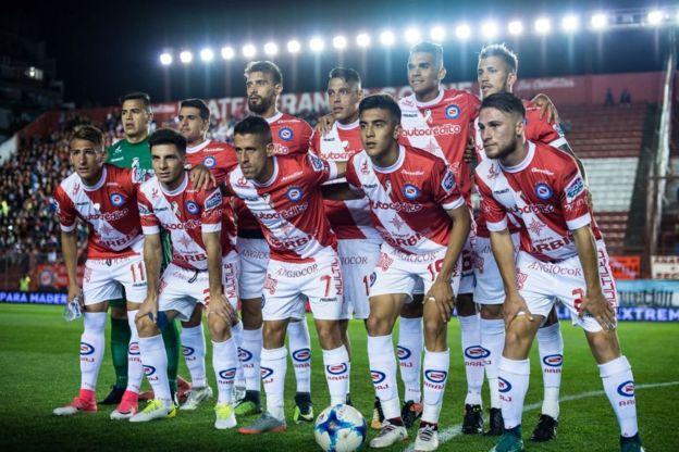 Equipo de Argentinos Juniors en 2017.