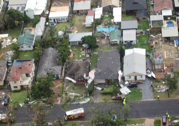 Kurnell storm damage