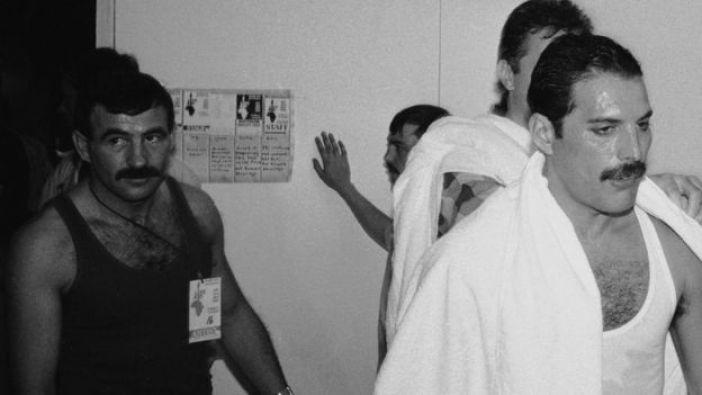 Freddie Mercury y Jim Hutton.