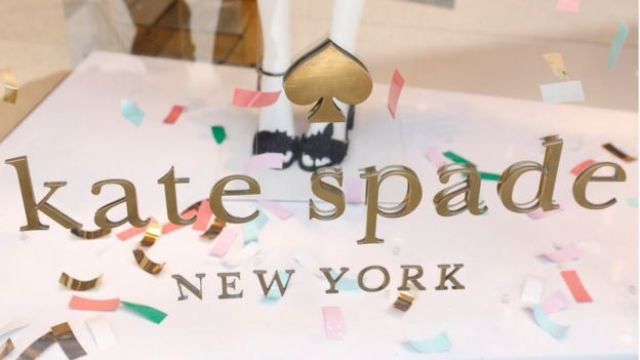Kate Spade logo on a store in New York