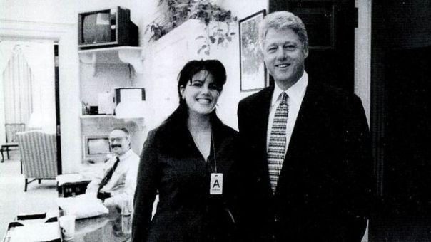 Bill Clinton y Monica Lewinsy