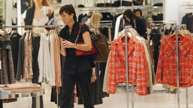 Inside Zara shop in Hong Kong