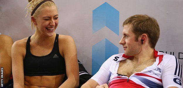 Laura Trott y Jason Kenny