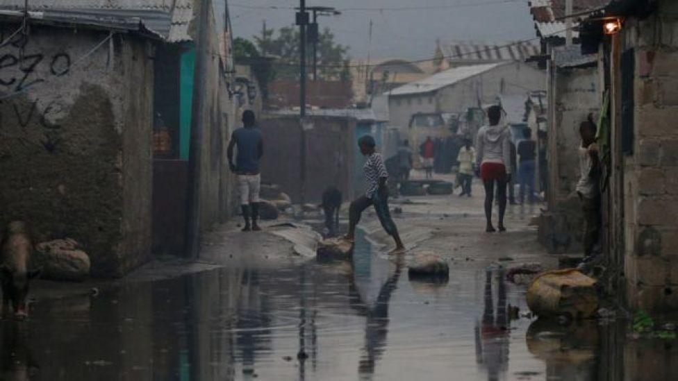Favela de Port Príncipe, em foto de 2016
