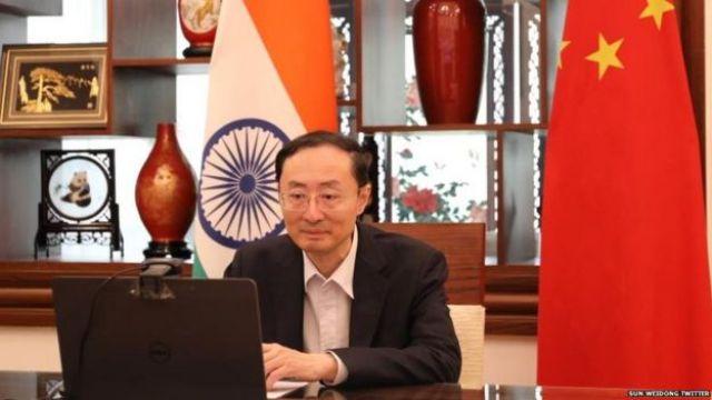 ভারতে চীনা রাষ্ট্রদূত সান ওয়েডং