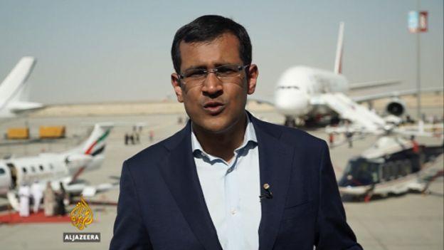 مراسل لقناة الجزيرة