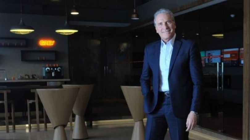 O empresário e apresentador Roberto Justus