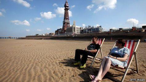 Blackpool deckchairs 2011