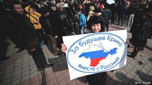 Người ủng hộ Nga tại Crimea