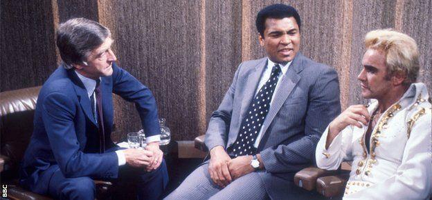 Muhammad Ali, Michael Parkinson and Freddie Starr
