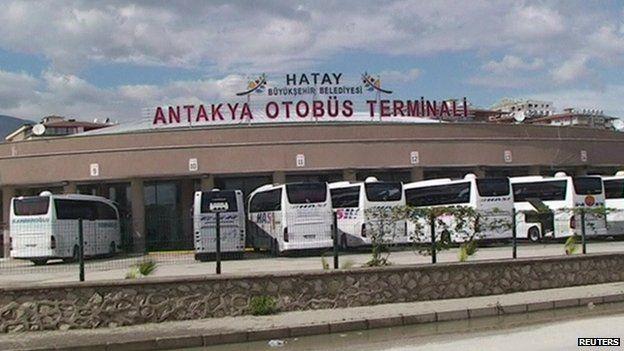 Antakya bus station