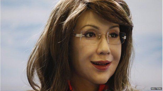 Robotic humanoid Yangyang
