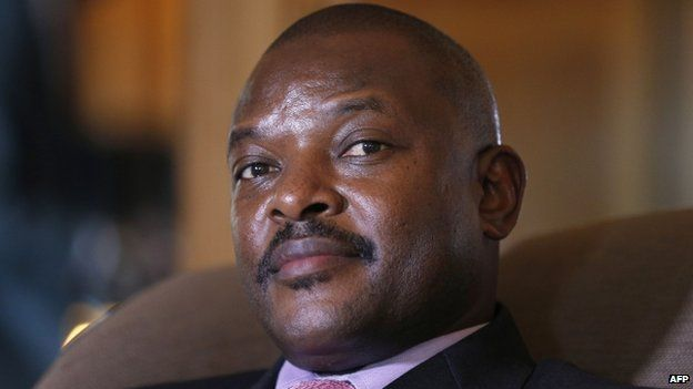 President Nkurunziza, file pic
