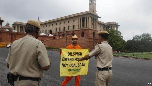 Greenpeace activist in India