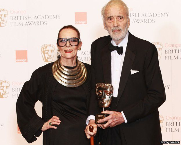 Sir Christopher Lee Bafta