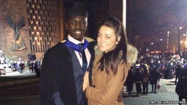 Alfred at his graduation