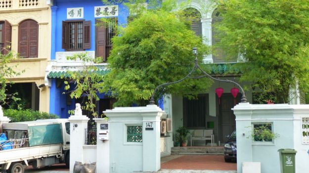 Lee Kuan Yew's former home on Neil Road