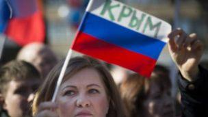 Crimea Russia flag