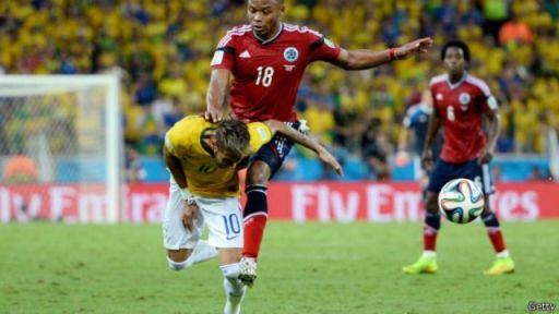 Juan oo jilibkiisa ku dhufanaya ciyaaryahan Neymar