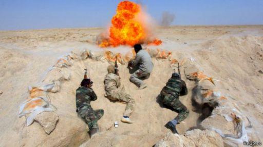 لا تزال المعارك مستمرة بين القوات العراقية ومسلحي تنظيم الدولة الإسلامية في شمال العراق.