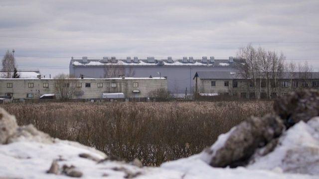 A prison facility