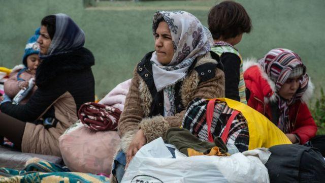 Migrantes en Turquía.
