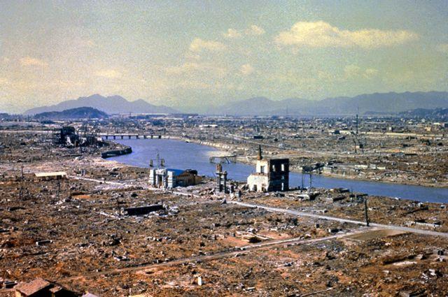 Burburkii Hiroshima ka dib markii hub niyukleer ah lagu weeraray