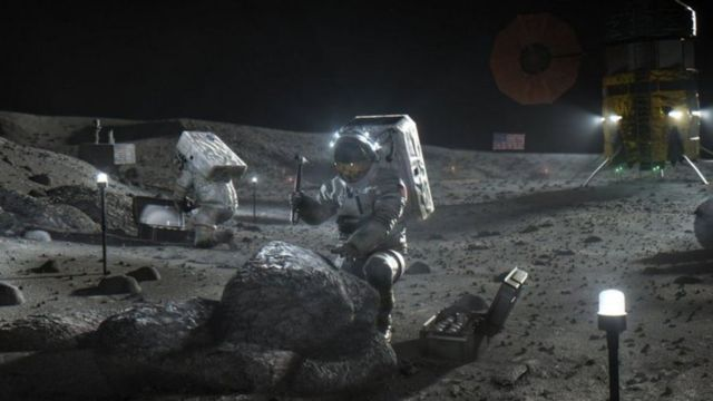 Infographic: NASA wants to return to and stay on the moon