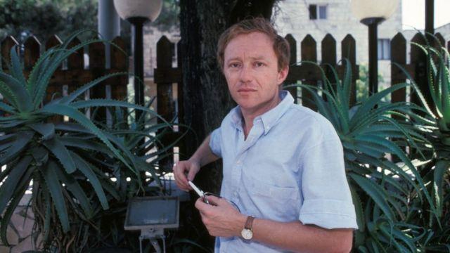 David Grossman en 1990 en Israel.