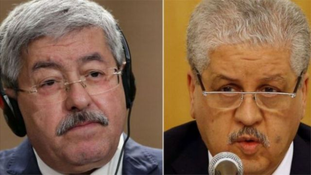 The two Algerian prime ministers