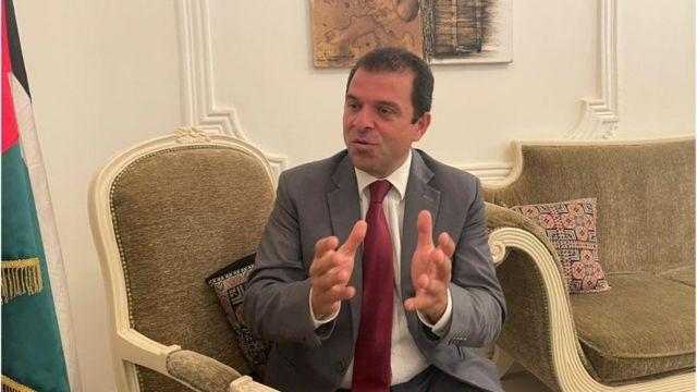L'ambassadeur de la Palestine à Dakar