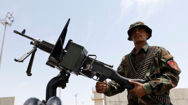 Afgan güvenlik gücü