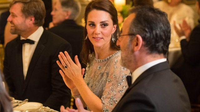 圖輯:威廉王子夫婦巴黎之行 - BBC News 中文