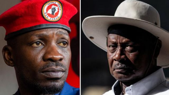 """Bobi Wine tell Ugandans """"stay for polling stations guard your votes, dem block internet to manipulate di election"""""""