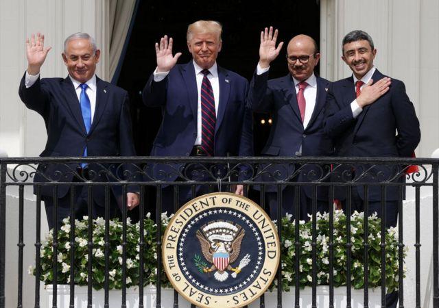 यूएई, बहरीन और इसराइल का समझौता