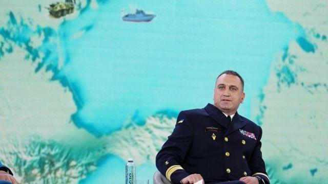 Контрадмірал, командувач ВМС України Олексій Неїжпапа