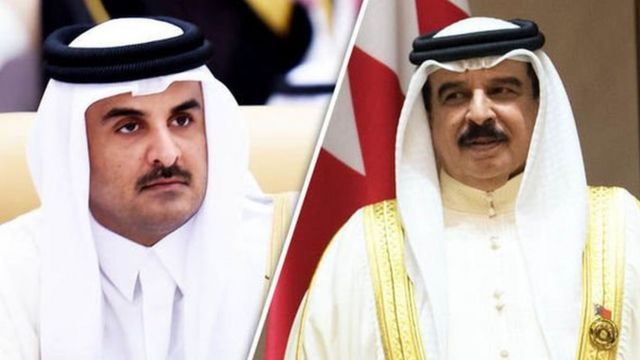Emir of Qatar and King of Bahrain