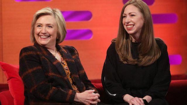 هيلاري كلينتون وتشيلسي كلينتون
