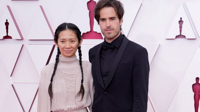 Chow met her British partner and director of photography, Joshua James Richards, while they were studying in New York