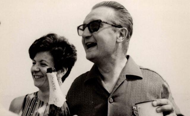 Giorgio and Gabriella Rosa