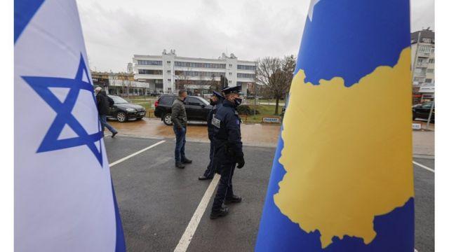 Note Israel and Kosovo