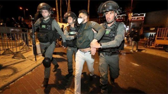Palestinian arrested in Jerusalem