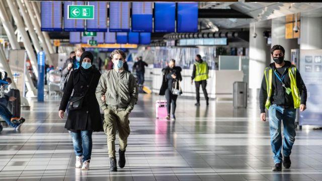 Aeropuerto de Ámsterdam, Países Bajos.